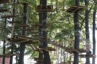 Nowy park linowy w Ełku